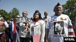 Obeležavanje 25. maja, u znak sećanja na Dan mladosti i Titov rođendan, Beograd, maj 2010, foto: Vesna Anđić