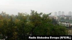 Дожд во Скопје на 16 октомври 2016