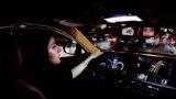 اولین رانندگی حِصه العجاجی، از کارمندان جدید بخش گردشگری عربستان، به مرکز شهر ریاض