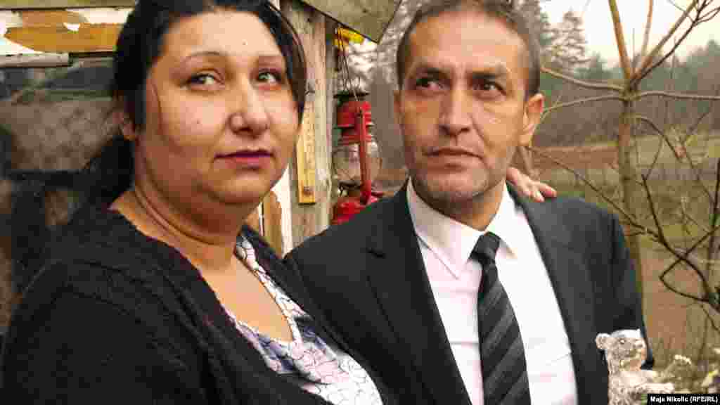 """""""My wife Senada and I will continue to fight,"""" Mujic said."""