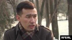Саясаттанушы Шалқар Нұрсейітов.