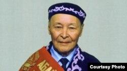 Белгілі абайтанушы-ғалым Қайым Мұхамедхановтың (1916-2004) Абай ауданының құрметті азаматы атанған кезі.