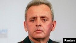 Украина Қуролли кучлари Бош штаби раҳбари Виктор Муженко.