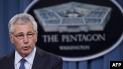 U.S. Secretary of Defense Chuck Hagel has not been able to talk with his Russian counterpart.