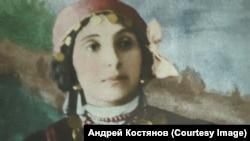 Портрет бабушки Н.Г. Деметер