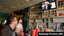 Imamo generacije koje su rođene poslije rata i koje Mladića smatraju herojem: Goran Bašić (na fotografiji: praćenje izricanja presude Ratku Mladiću, Banjaluka)
