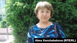 Мама выпускницы Зауреш Жукенова. Алматы, 25 мая 2015 года.