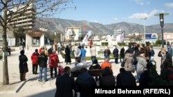 Okupljanje u Mostaru