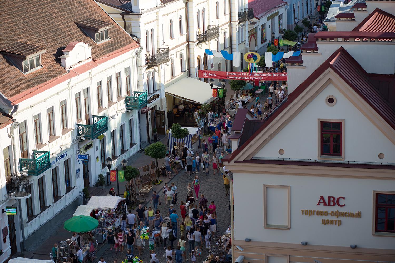 Якая першая назва пешаходнай вуліцы Савецкай у Горадні?