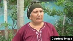 Səkina Abbasova, Daşlı Çalağan sakini