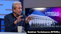 Лидер партии «Бутун Кыргызстан» Адахан Мадумаров.