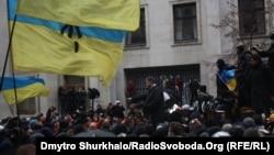 Ukraynada nümayiş