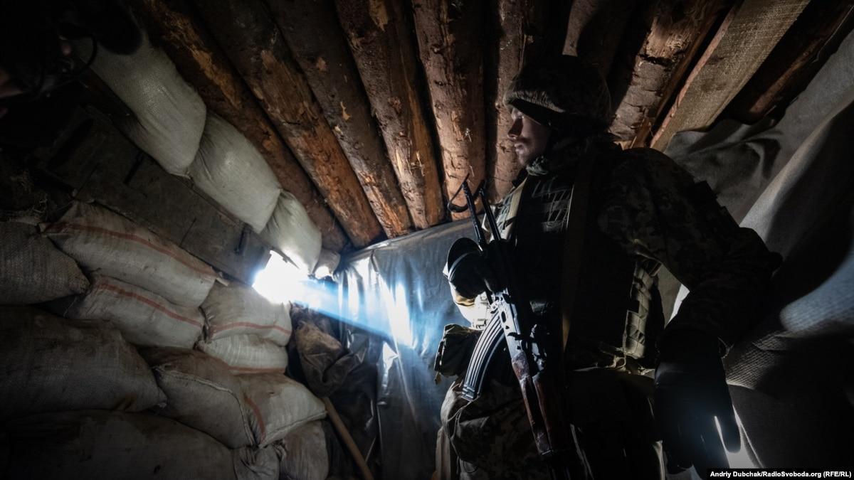 На Донбассе боевого поражение потерпел один украинский военный – штаб