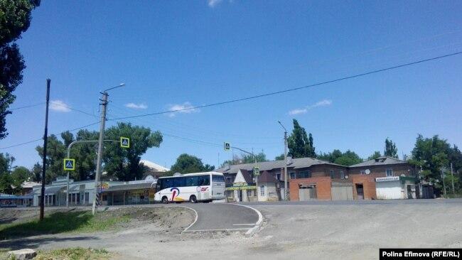 Специальный автобус возвращается в Луганск
