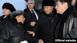 Қазақстан президенті Нұрсұлтан Назарбаевтың Жаңаөзенге барған сапары. 22 желтоқсан 2011 жыл.