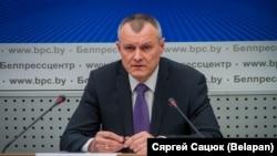 Міністар унутраных спраў Ігар Шуневіч