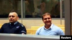 Darko Šarić u sudnici