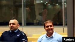 Optužni Darko Šarić u Specijalnom sudu u Beogradu na početku suđenja u martu 2014.