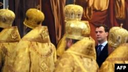 Дмитрий Медведев нашел себя в православии