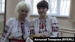 Мария Кряглик Кулманбетова солдо биринчи.