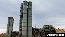 S-400 raketdən müdafiə raket sistemi Suriyanın Hmeymim bazasında