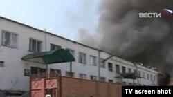 Ингушетия. Взрыв в РОВД Назрани, 17.08.2009