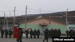 Түштүк Оссетиядагы орус аскерий базасы. 2-февраль, 2010-жыл.