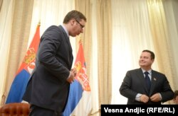 Predsednik i šef diplomatije Srbije: Aleksandar Vučić i Ivica Dačić
