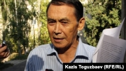 Зейнеткер Мұхит Дербісалин. Алматы, 4 қыркүйек 2012 жыл.