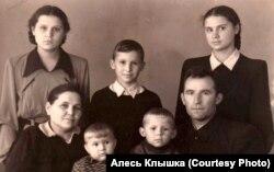 Сям'я Клышкаў, 1953 год