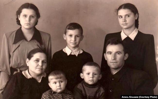 Семья Клышка, 1953 год