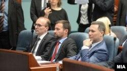 Архивска фотографија - Никола Груевски во Собранието.