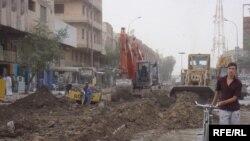 مشهد من مدينة السماوة في تموز 2009