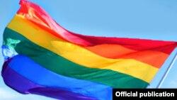 Күн желеге түспөлдөш желек ЛГБТнын символу катары белгилүү.