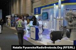 Українська експозиція на авіасалоні у Берліні, 28 квітня 2018 року