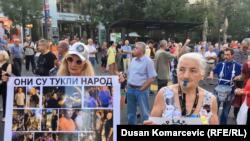 Белграддагы нааразылык акциясы. 17-август, 2019-жыл.
