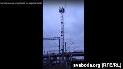 Скрыншот зь відэа ўправы ГУУС Менгарвыканкаму.