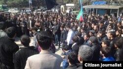 Протестите во покраината Нардаран во Азербеџан