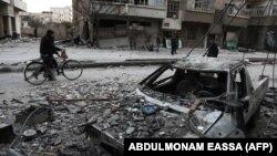 Следы разрушений в Восточной Гуте