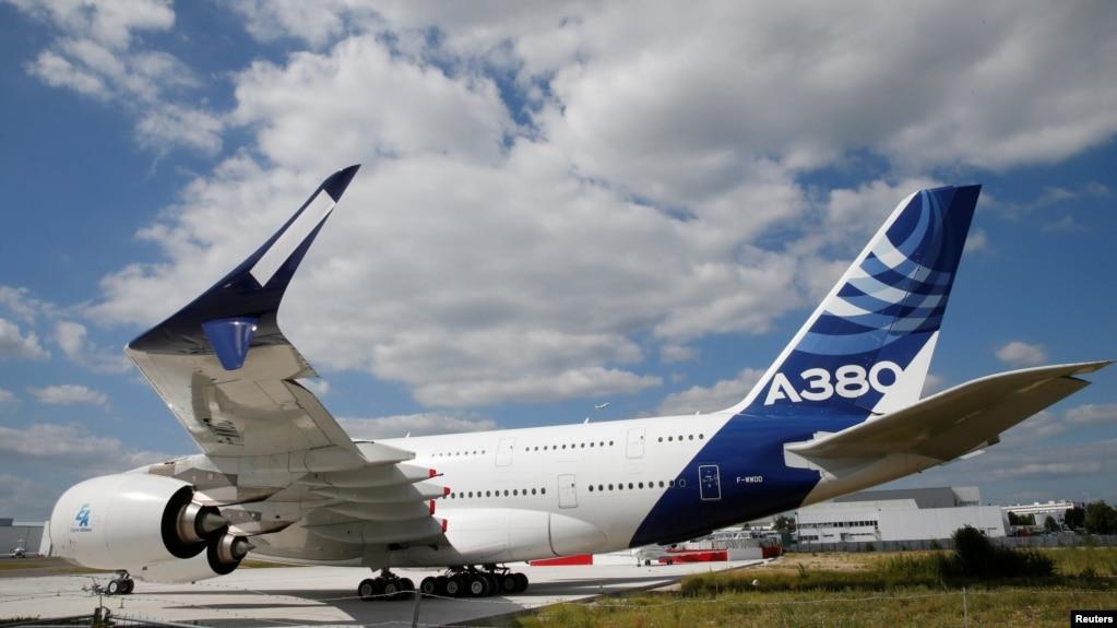 Airbus представил новейшую версию своего флагмана А380