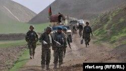 عملیات نیروهای امنیتی افغانستان در فاریاب