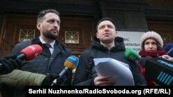 Віталій Коломієць (ліворуч) і Микола Ореховський, адвокати