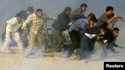 Илустрација: Судири во Појасот Газа.