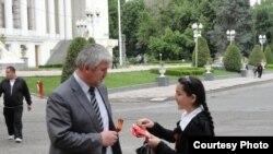 Тақсими лентаҳои Георгий дар Душанбе
