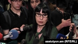 Кандидат в мэры Еревана от ППА Наира Зограбян (архив)