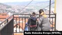 Dijete sa posebnim potrebama i majka, Bosna i Hercegovina (fotoarhiv)