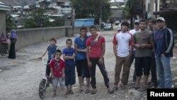 Дағыстандағы ауыл көшесі. 9 маусым 2012 жыл. (Көрнекі сурет)