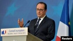 Francois Hollande, foto nga arkivi