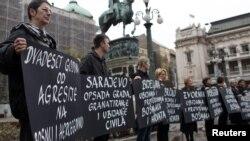 Performansi nevladinih organizacija u Beogradu podsećaju na istinu o ratovima na prostoru bivše SFRJ