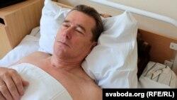 Віктар Цярэшчанка ў 3-м менскім гарадзкім шпіталі